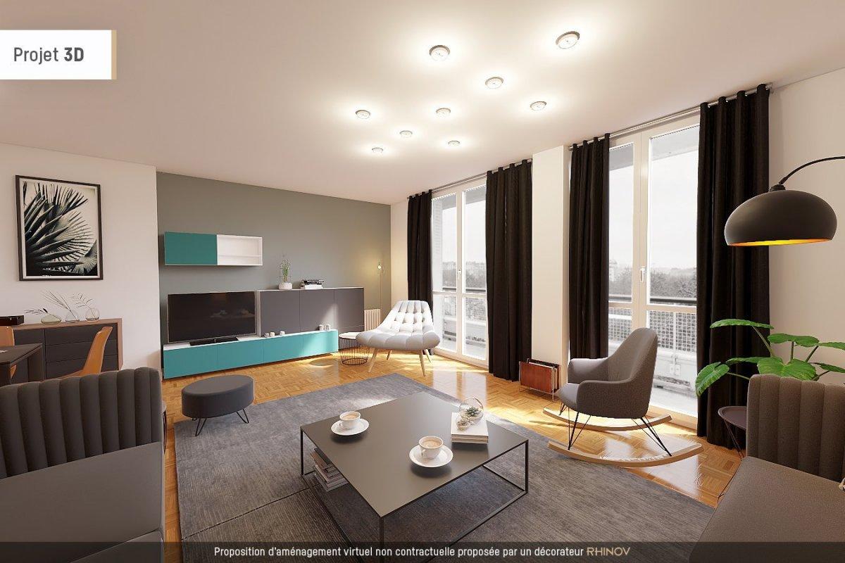 Vente appartement 4 pièces 80m² 75012 paris